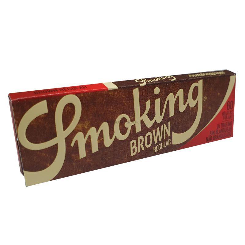 Bletki Smoking Brown krótkie 60 szt.