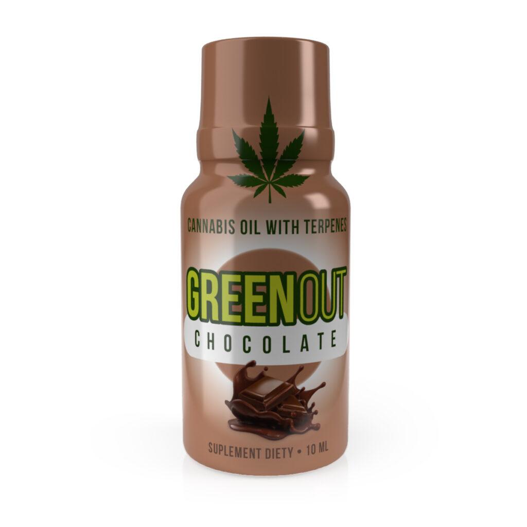 Green Out Olejek konopny CBD RELAX 10 ml