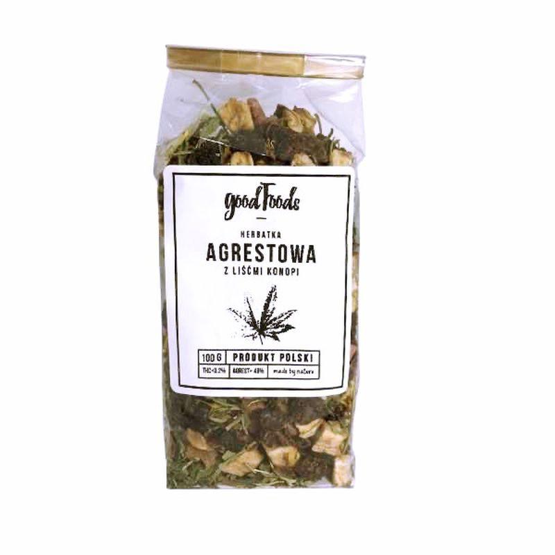 Herbata konopna agrestowa 48% 100 g