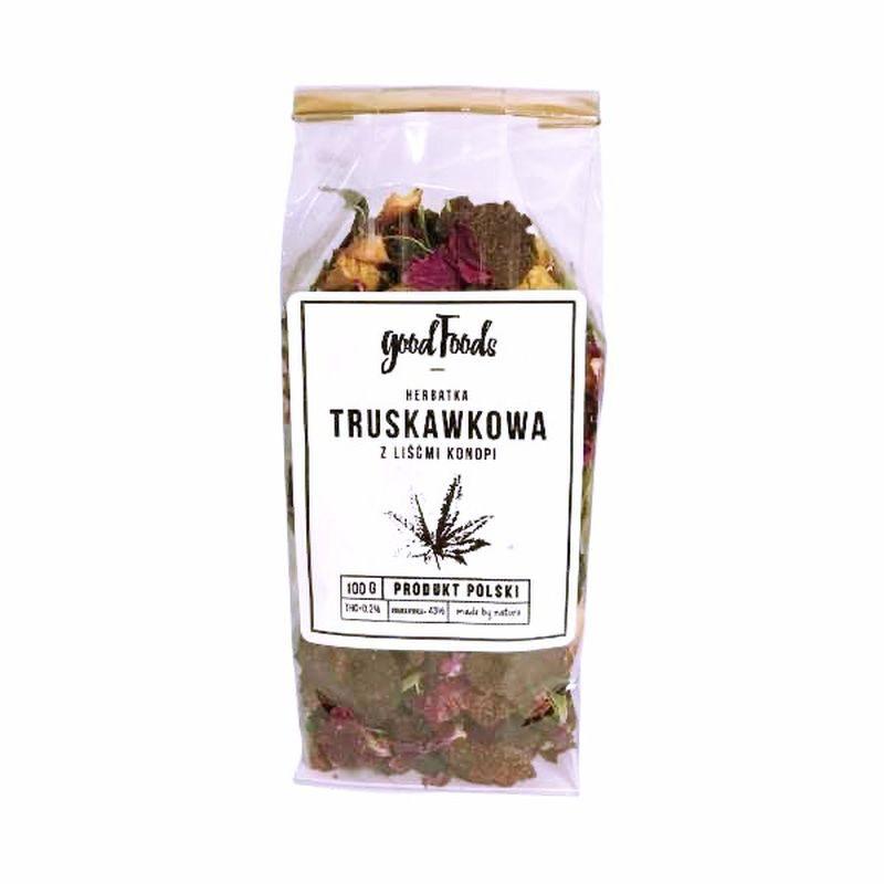 Herbata konopna truskawkowa 100 g