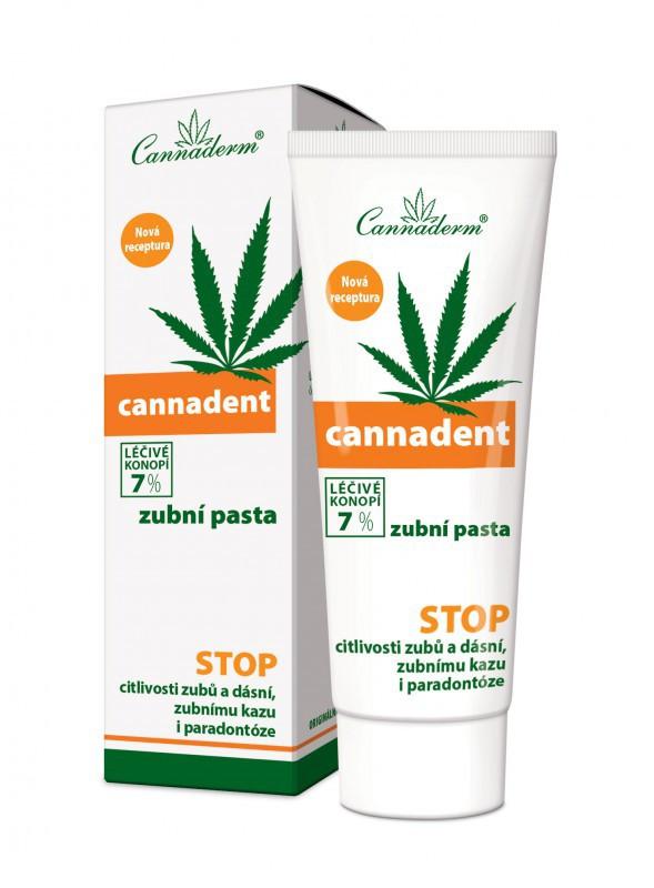 Cannaderm Pasta konopna do zębów Cannadent 75 g