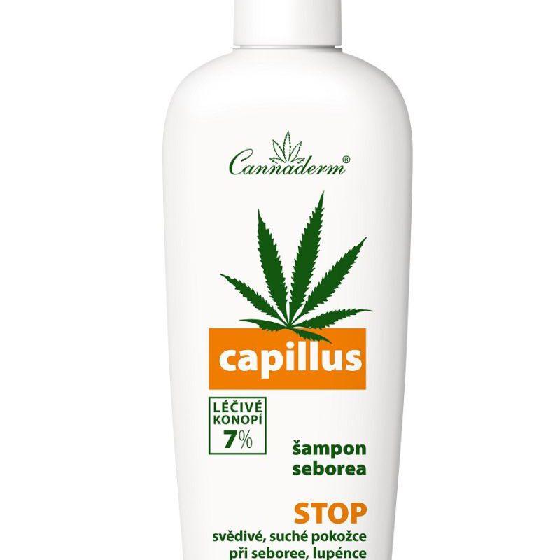 Cannaderm Szampon na problemy łojotokowe Capillus 150ml