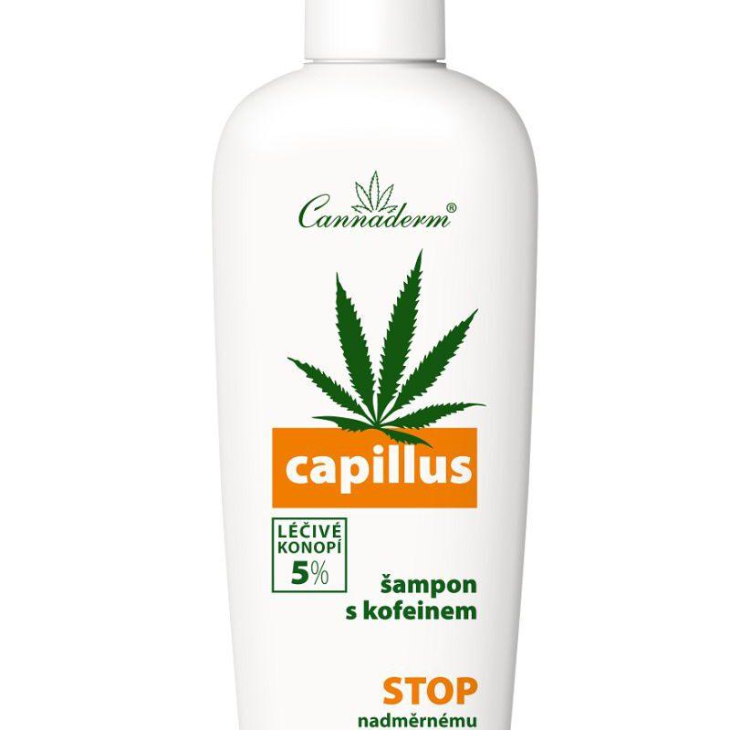 Cannaderm Szampon przeciw wypadaniu włosów Capillus 150ml