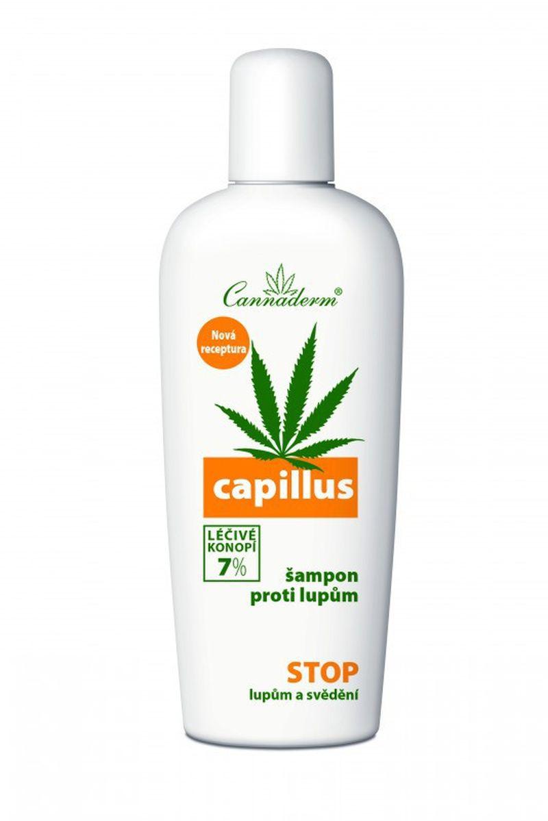 Cannaderm Szampon przeciwłupieżowy Capillus 150ml
