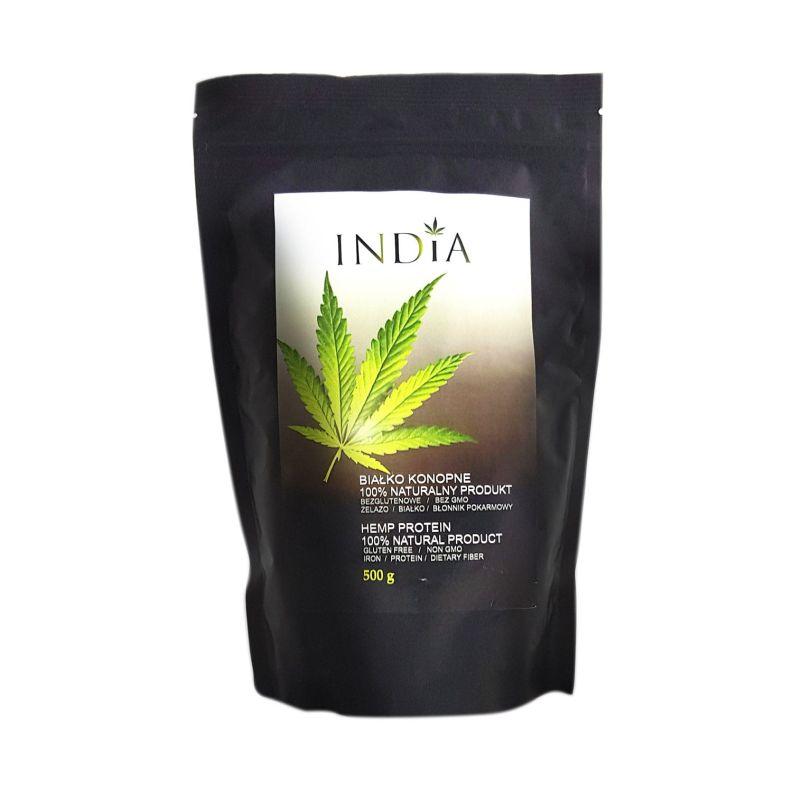 India Białko konopne 100% naturalne 500 g