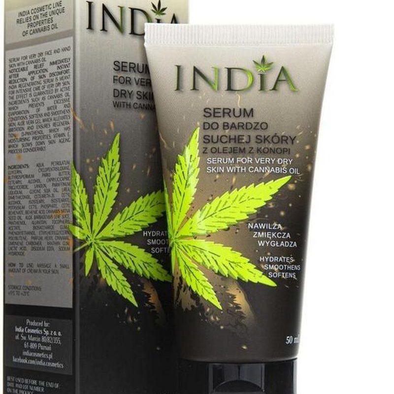 India Serum do suchej skóry twarzy i dłoni 50 ml