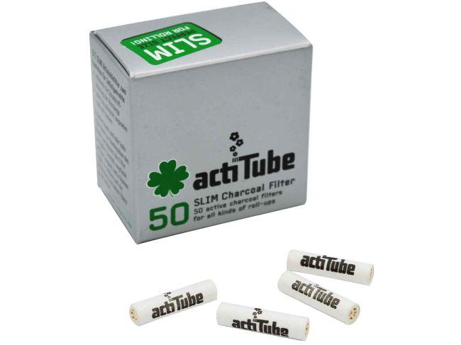 ActiTube Slim filtr do skrętów AKTYWNY WĘGIEL 7 mm 1szt