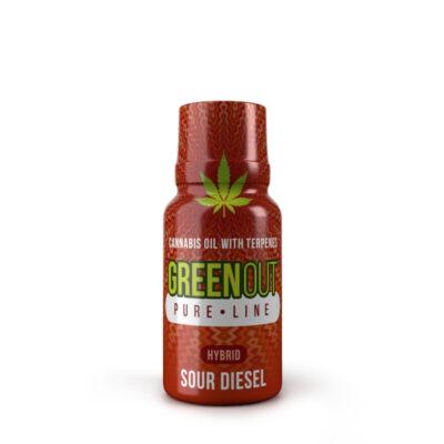 Green Out Pure Olejek konopny CBD Sour Diesel 10 ml