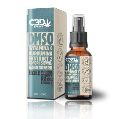 Przeciwbólowy spray DMSO - CBD EFFECT