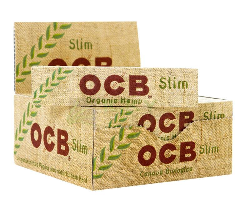 Bibułki OCB Organic Hemp z filtrami 32 szt.