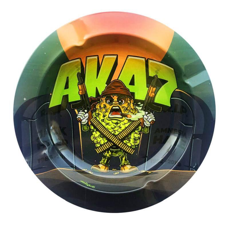Popielniczka metalowa AK 47